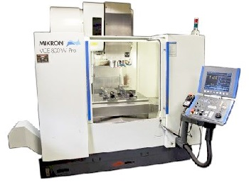 Mikron VCP 800 - Usinagem High Speed Machining - Lumatech